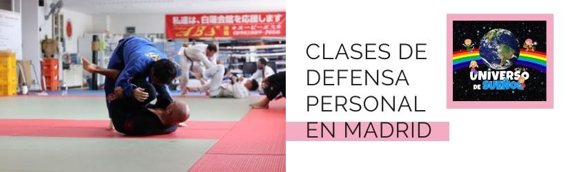 clases defensa personal en madrid